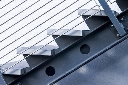 Barandilla de aluminio Pozuelo de Alarcon