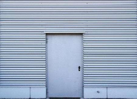 Puerta de aluminio Las Rozas