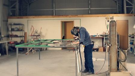 taller de aluminio leganes
