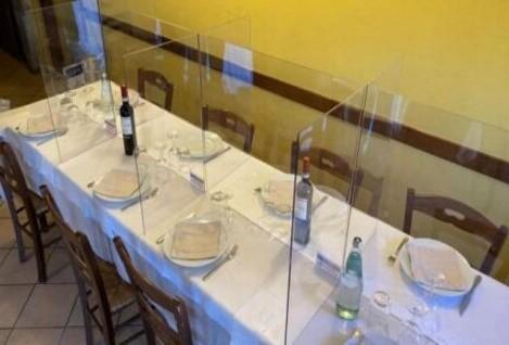 mampara restaurante San Fernando de Henares