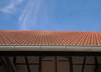 canalones tejado Alcala de Henares